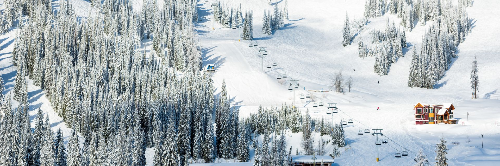 A ski resort in British Columbia
