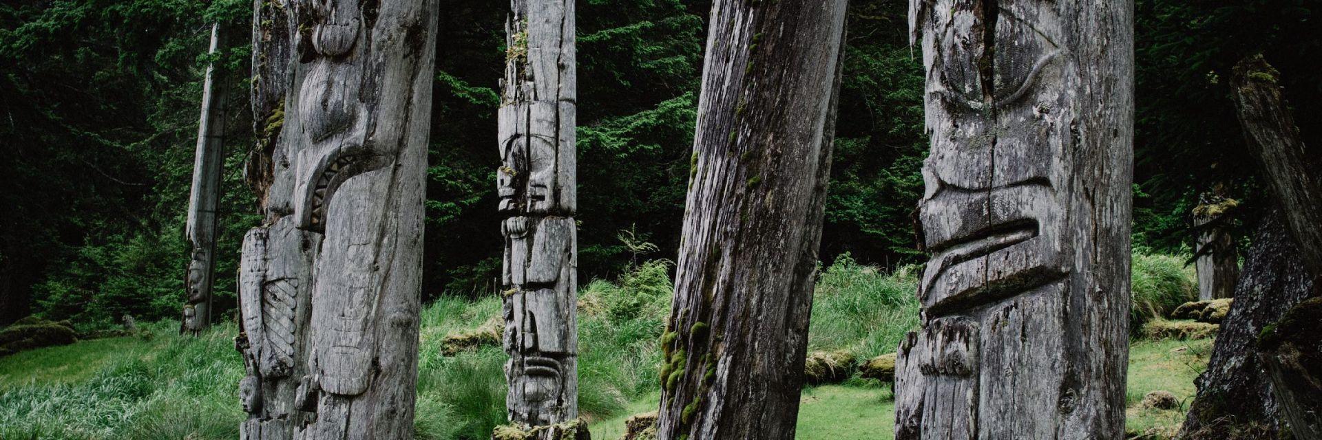 SGang Gwaay Llnagaay in Haida Gwaii