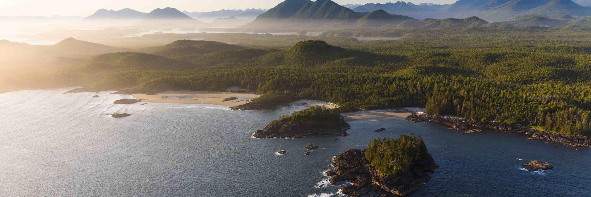 Pacific Rim National Park in British Columbia