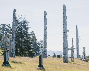 Namgis Burial Grounds, Alert Bay